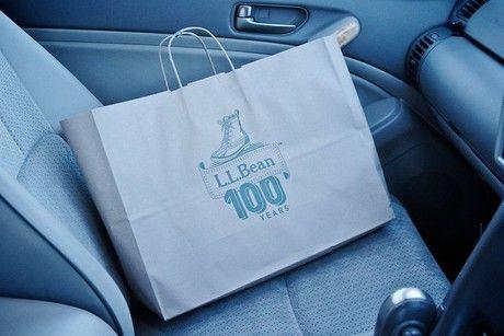 L.L.Beanの100周年紙袋