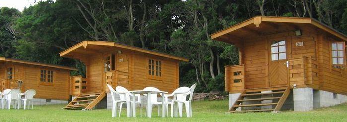 志摩オートキャンプ場のバンガローの写真