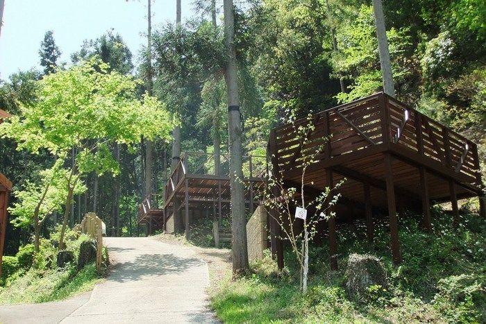満願ビレッジオートキャンプ場のテントサイト