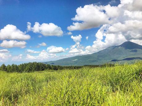 高原の天気の写真