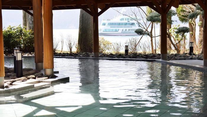 ザ・プリンス箱根芦ノ湖 別館1Fにある温泉「箱根湖畔の湯」