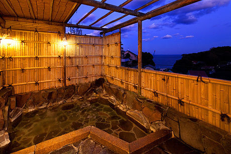 ペンションSIOSAIの敷地内温泉