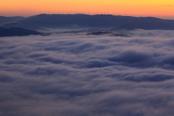 雲海の写真