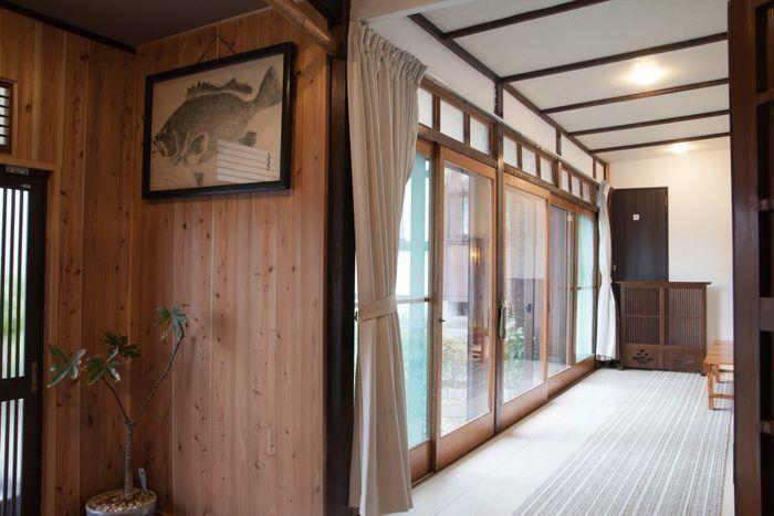 釈迦堂民宿桜荘の内部