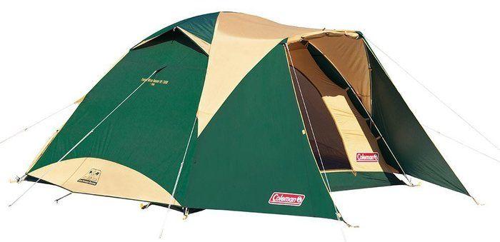コールマンのテントの画像