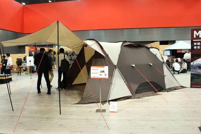 コールマンのテントの写真