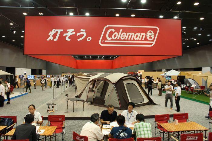 コールマンの展示会の写真