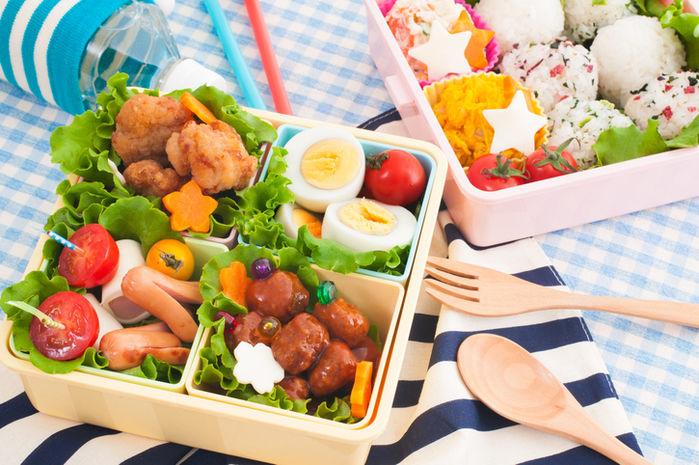 ピクニックに持っていきたい可愛いお弁当の写真