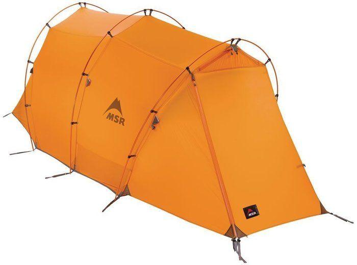 MSRの吊り下げ式テントの写真