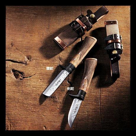 トヨクニの剣鉈と腰鉈のナイフ