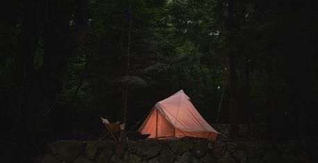 杜のテラスのグランピングテントの写真