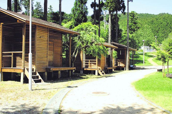 中尾山高原キャンプ場の様子