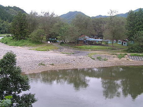 上小川キャンプ場の様子