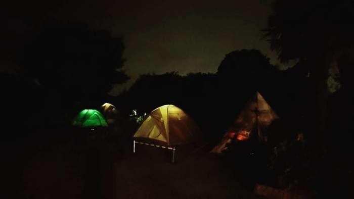キャンプジャルディーノの様子
