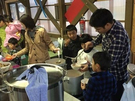 志摩オートキャンプ場での冬イベントの様子
