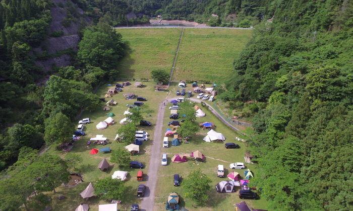 ハイマート佐仲のキャンプサイト