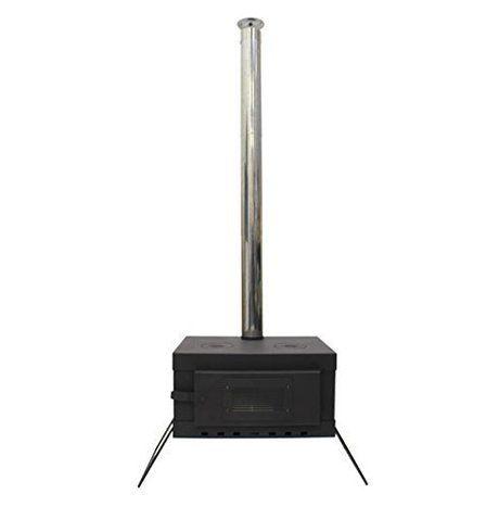 デンマクデザインの小型薪ストーブの画像