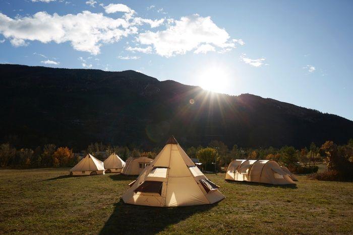 グランドキャニオンのテント