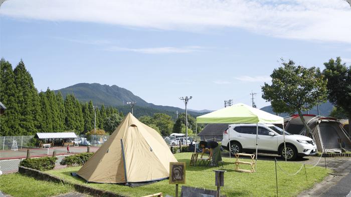 曽爾高原のキャンプ場