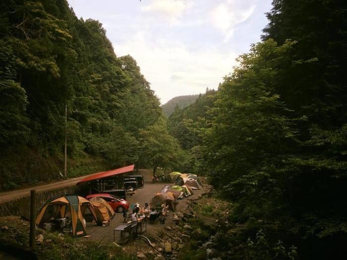 大岳キャンプ場 下流サイト