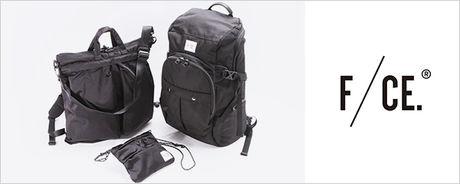 エフシーイーのロゴとバッグ