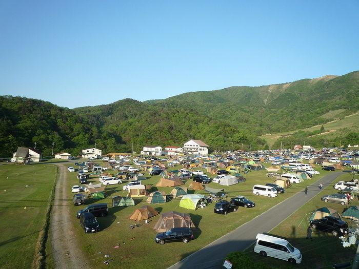 マキノ高原キャンプ場の様子