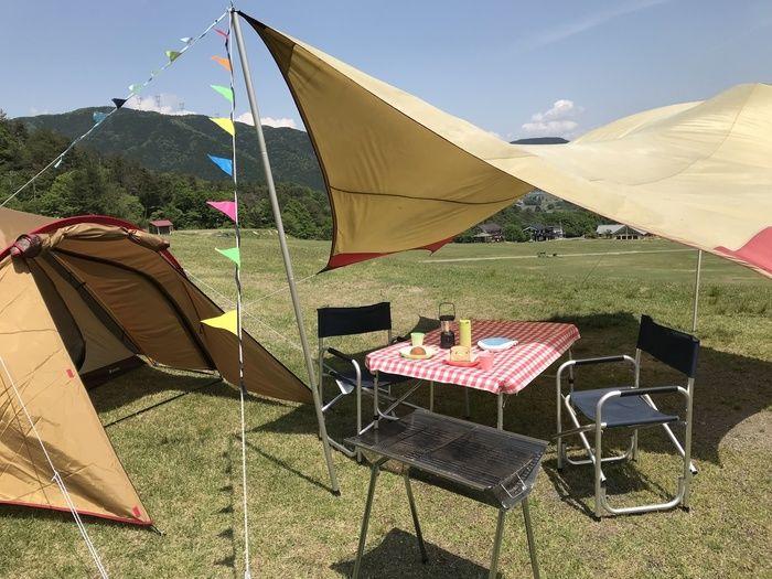 マキノ高原キャンプ場の手ぶらセット