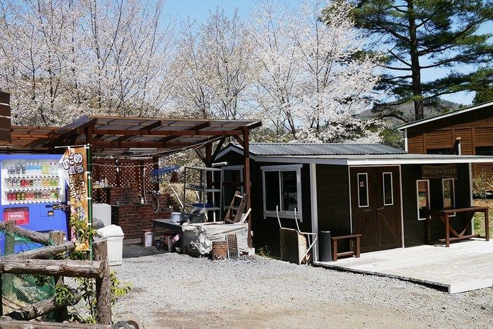 満願ビレッジオートキャンプ場の管理棟
