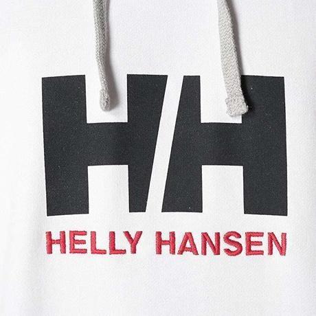 ヘリーハンセンのパーカーのロゴ