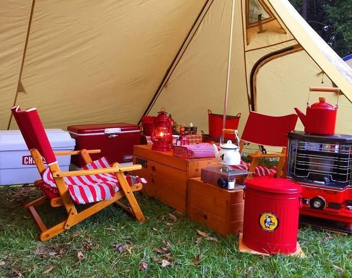 ダルトンの雑貨を使ったキャンプサイト