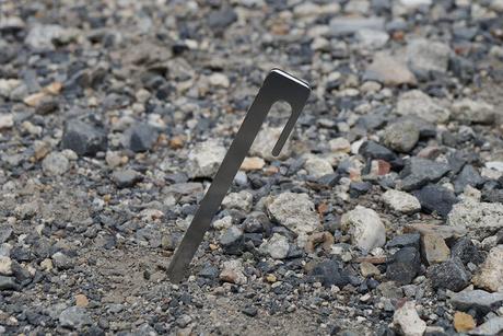 地面に刺さっている打刀