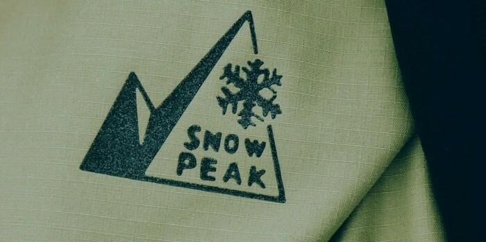 スノーピーク×mountain of moods ロゴ