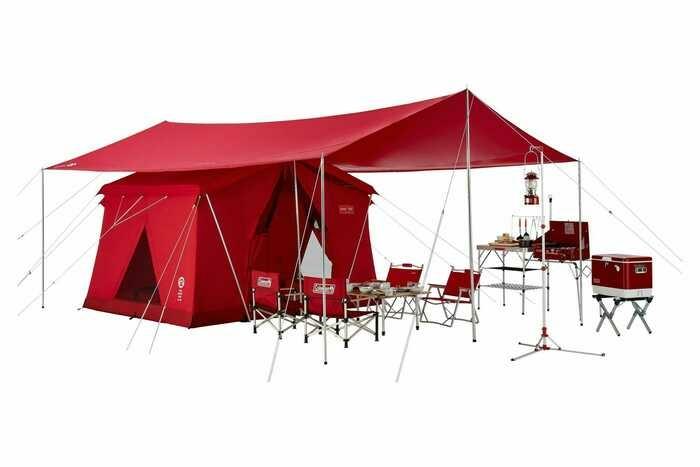 コールマン120周年のテント