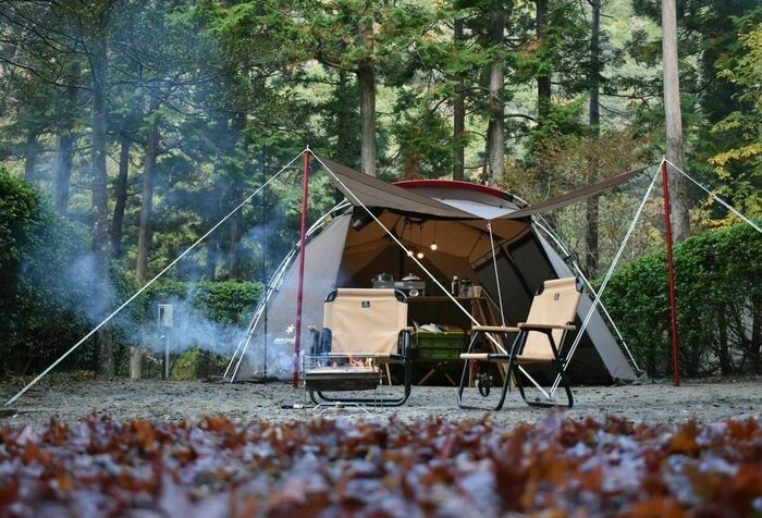 スノーピークのテント「ランドロック」のアレンジ例3