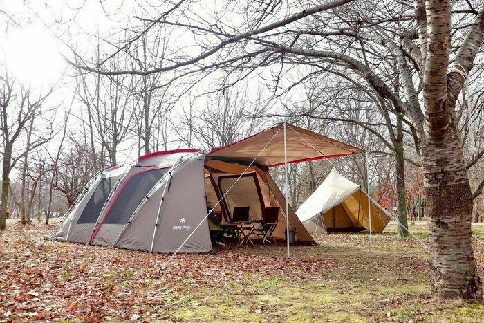 スノーピークのテント「ランドロック」のアレンジ例9