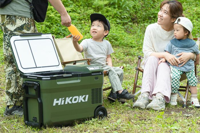 HIKOKIのクーラーボックス