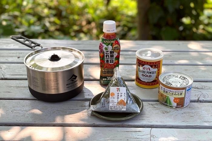 コンビニおにぎり×缶詰マッシュアップレシピ
