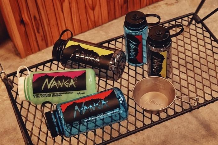 NANGA×NALGENE WIDE MOUTH BLANK BOTLLE
