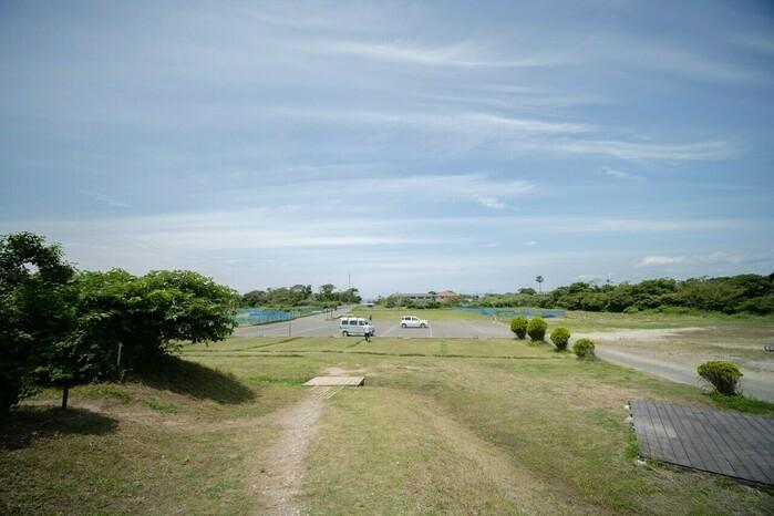 館山サザンビレッジの敷地