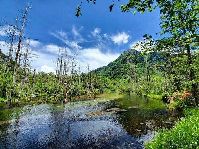 上高地の池