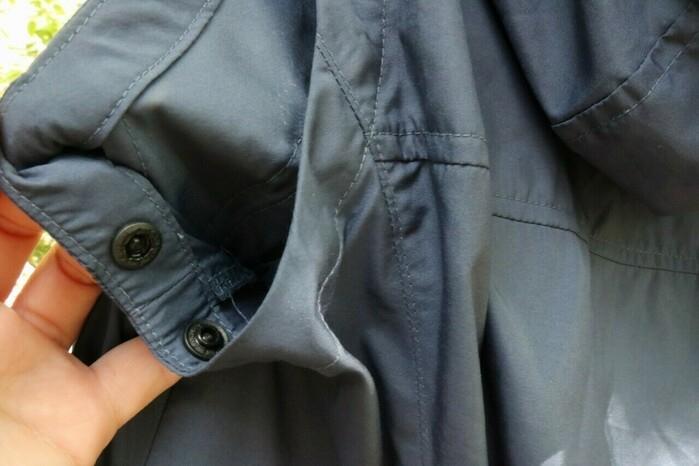 空調服の脇部分