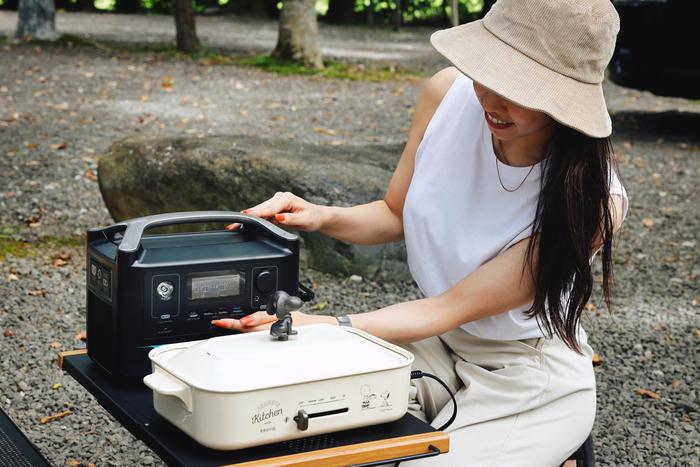 調理家電×ポータブル電源でバーベキューをアップグレード