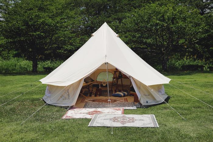 テントとマット