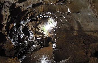 橋立鍾乳洞の様子