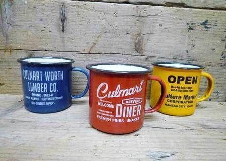 カルチャーマートのホーロー製マグカップ