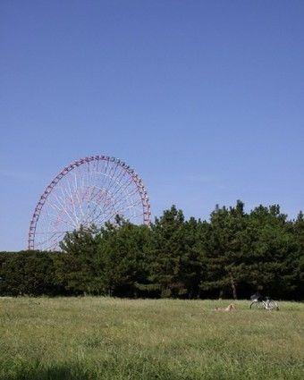 観覧車と葛西臨海公園