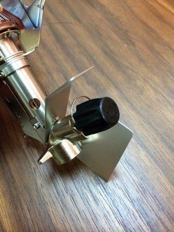 燃料バルブの形状の写真
