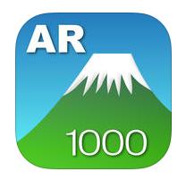 アプリ、AR 山 1000のアイコン