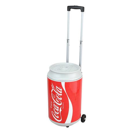コカコーラ缶の形をしたクーラーボックス
