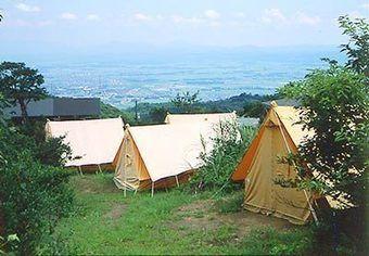 南葉高原キャンプ場からの景色